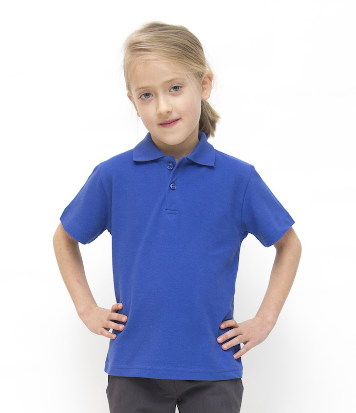 Eco friendly school uniform pure cotton polo shirt for Polo shirts for school