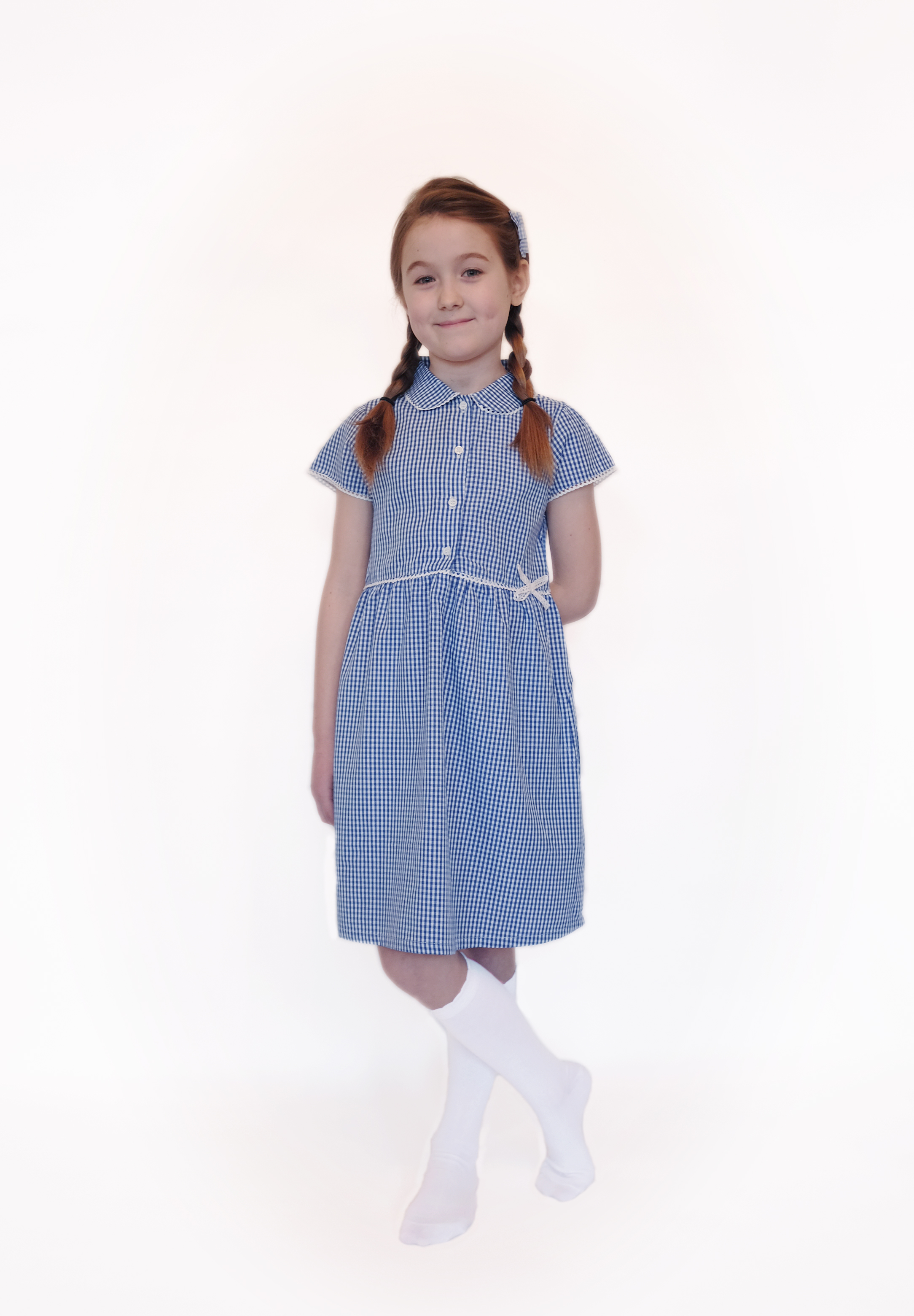 Organic School Uniform | Cotton Summer Dress