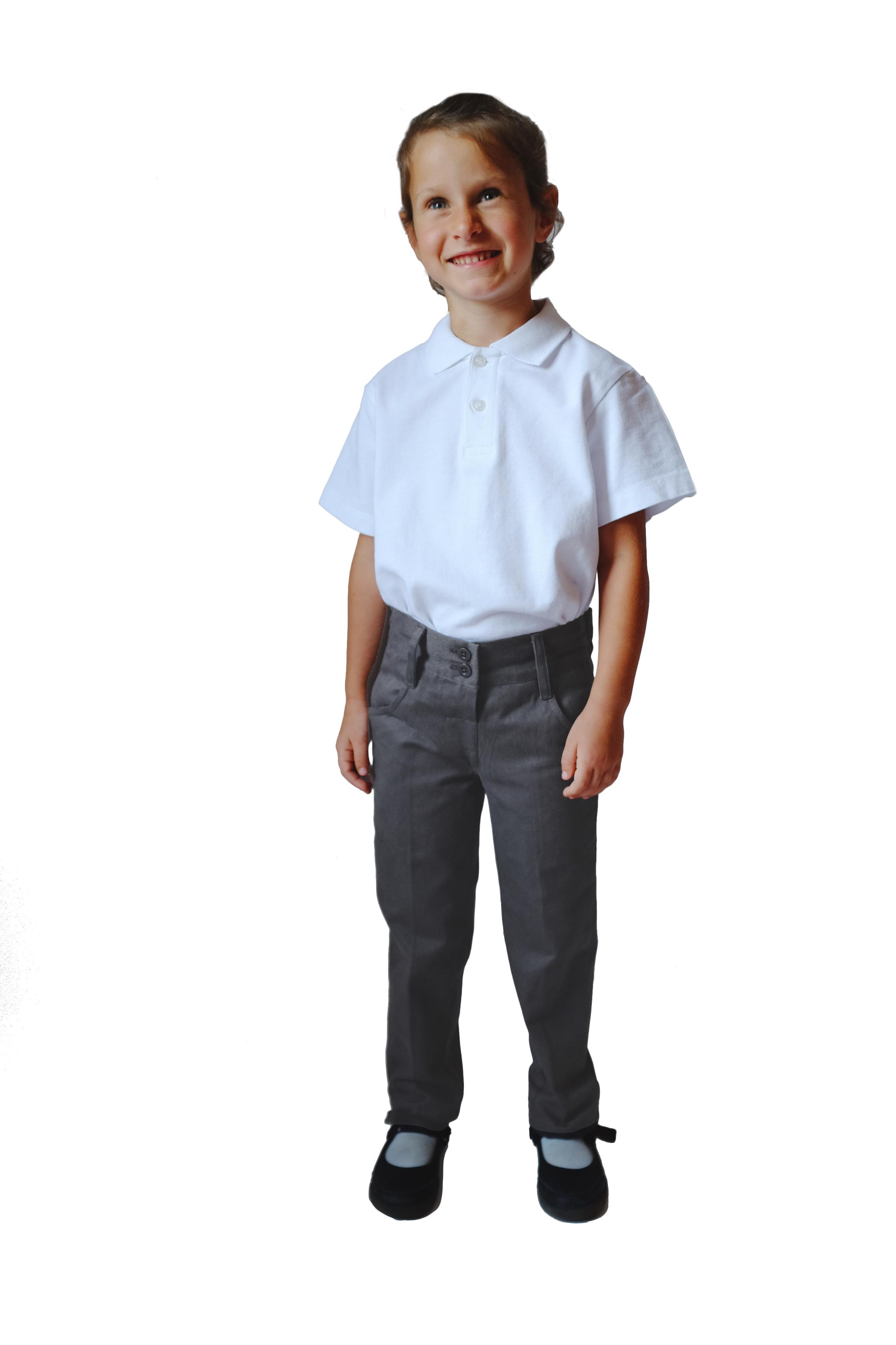 Eco Friendly School Uniform Organic Cotton Girl S School