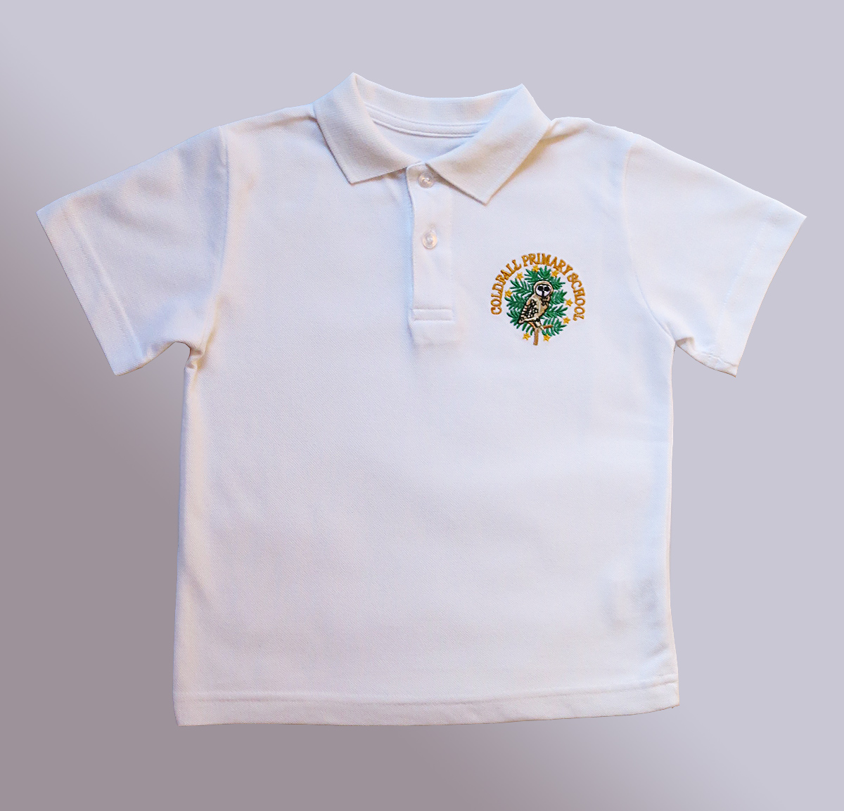 Eco friendly schoolwear organic cotton school polo shirt for Polo shirts for school