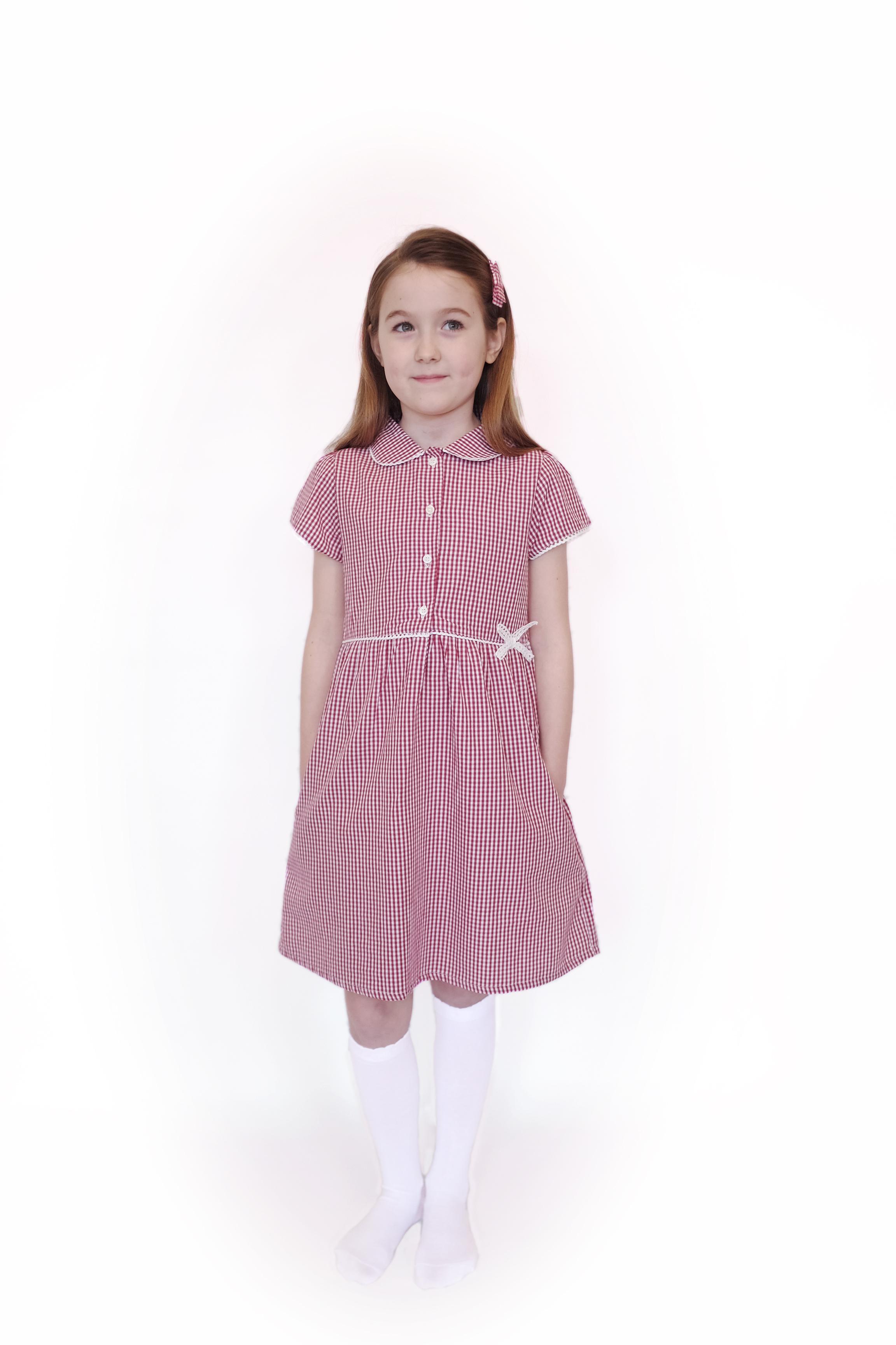 Red summer dress uk