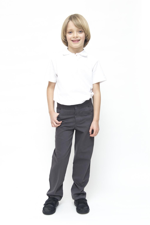 ex BHS Boys Black, Charcoal & Grey Slim Fit Skinny School Trousers Elastic Adjustable Waist Yrs. £ - £ Prime. Integriti UK Ages Boys Slim Fit School Trousers Black Grey Skinny Leg School Trousers Pants Adjustable Waistband £ - £ Prime.