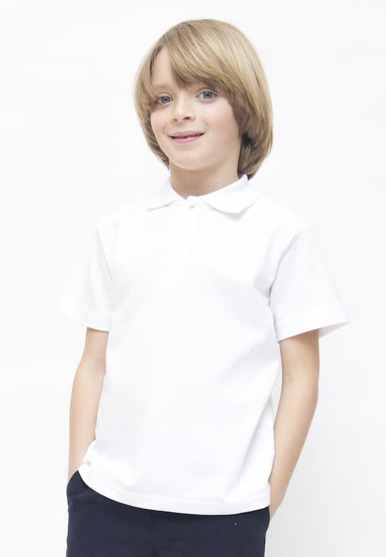 Organic Cotton School Uniform Pure Cotton School Polo