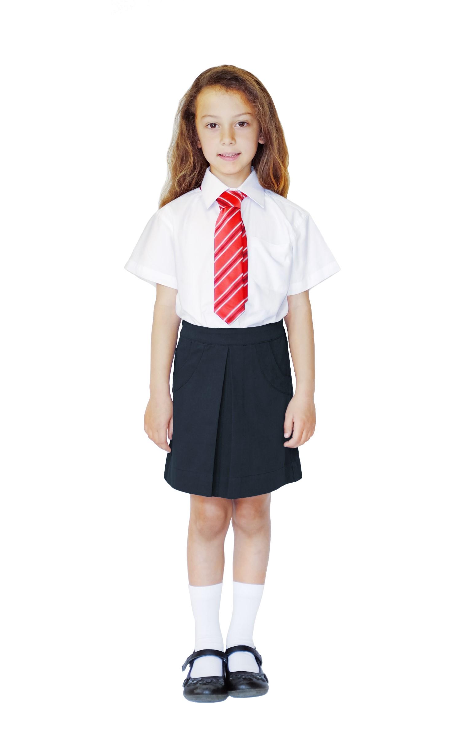 Ethical School Uniform Pure Cotton Black School Skirt